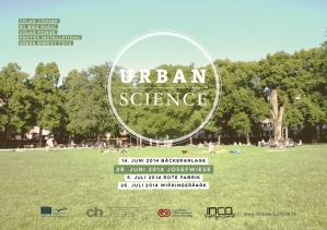 Inca wil be present wit Urban Science at the Expotranskultur Fest 2015 in Zurich